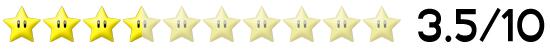 3,5 Sterne