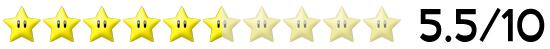 5,5 Sterne