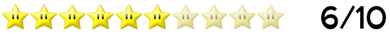 6 Sterne