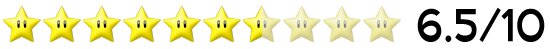 6,5 Sterne