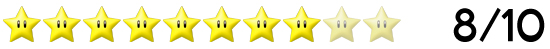 8 Sterne