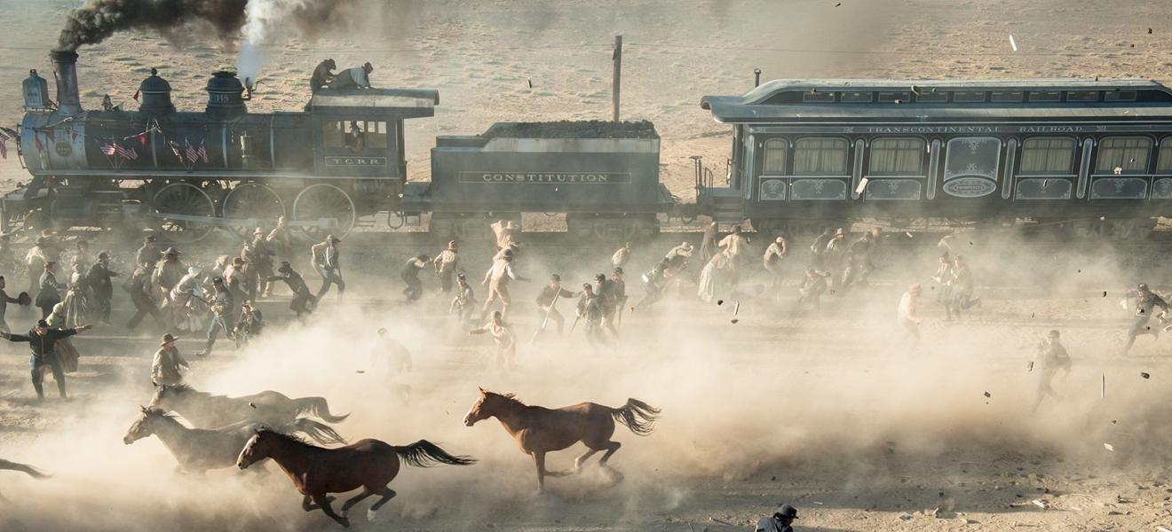The Lone Ranger in einem Bild: Züge, Rössli und haufenweise unkoordiniertes Chaos