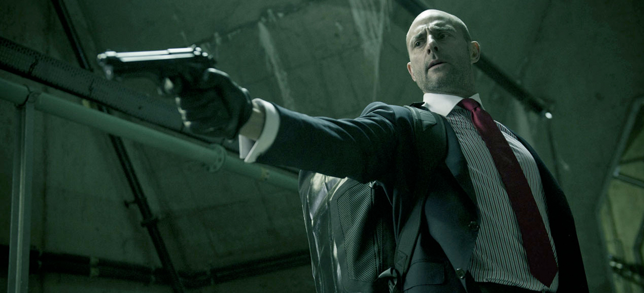 You know, you're fucked when Mark Strong in a suit is pointing his gun at you.