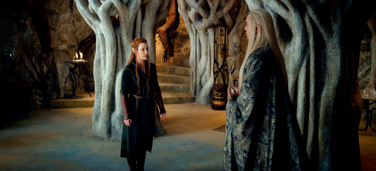 """So what is this island you keep rambling about, Tauriel?"""