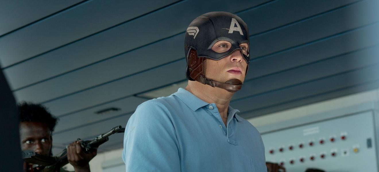 """""""I am the Captain, now!"""" - """"Verdammt, Chris, du bist wieder mal auf dem falschen Set!"""""""