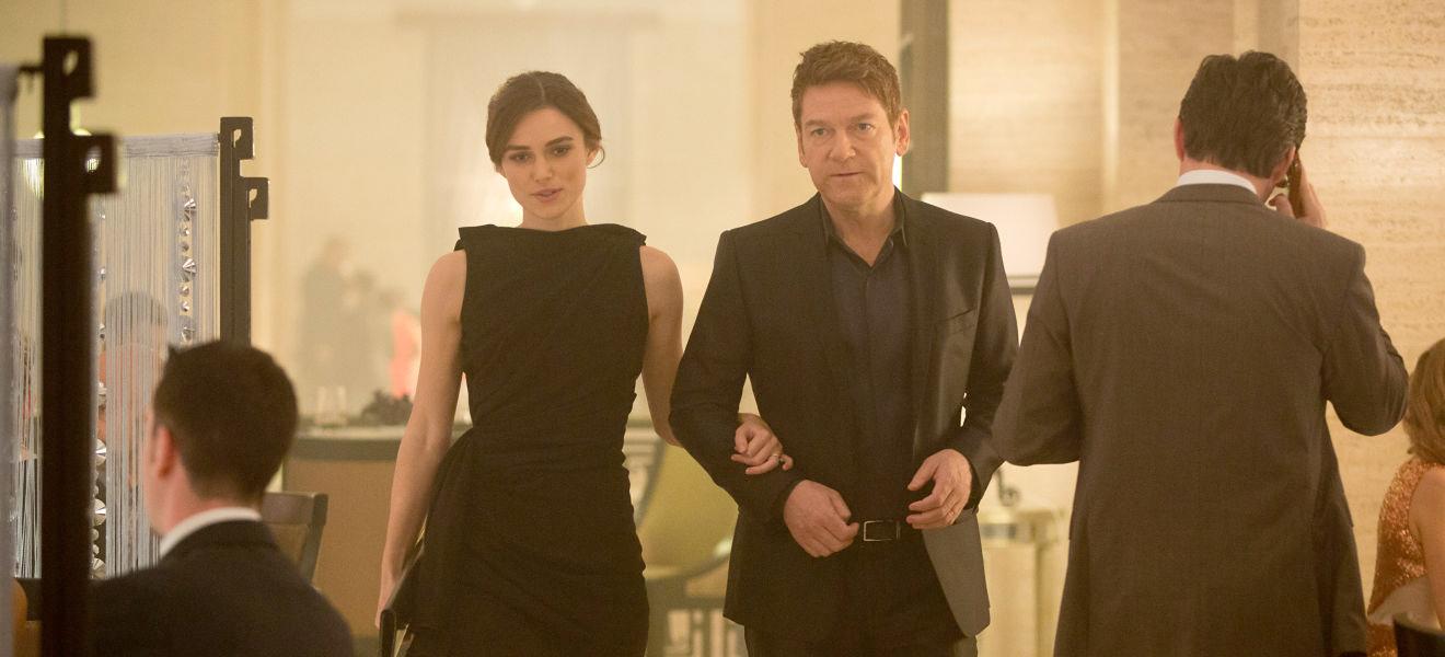 Als Kenneth Branagh realisierte, dass er Keira Knightley mit Natalie Portman verwechselt hatte, war es auch schon zu spät.