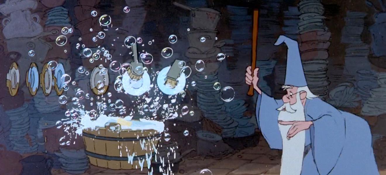 """""""Walle! Walle! Manche Strecke, dass zum Zwecke, Wasser fliesse, und mit reichem, vollem Schwalle Zu dem Bade sich ergiesse."""""""